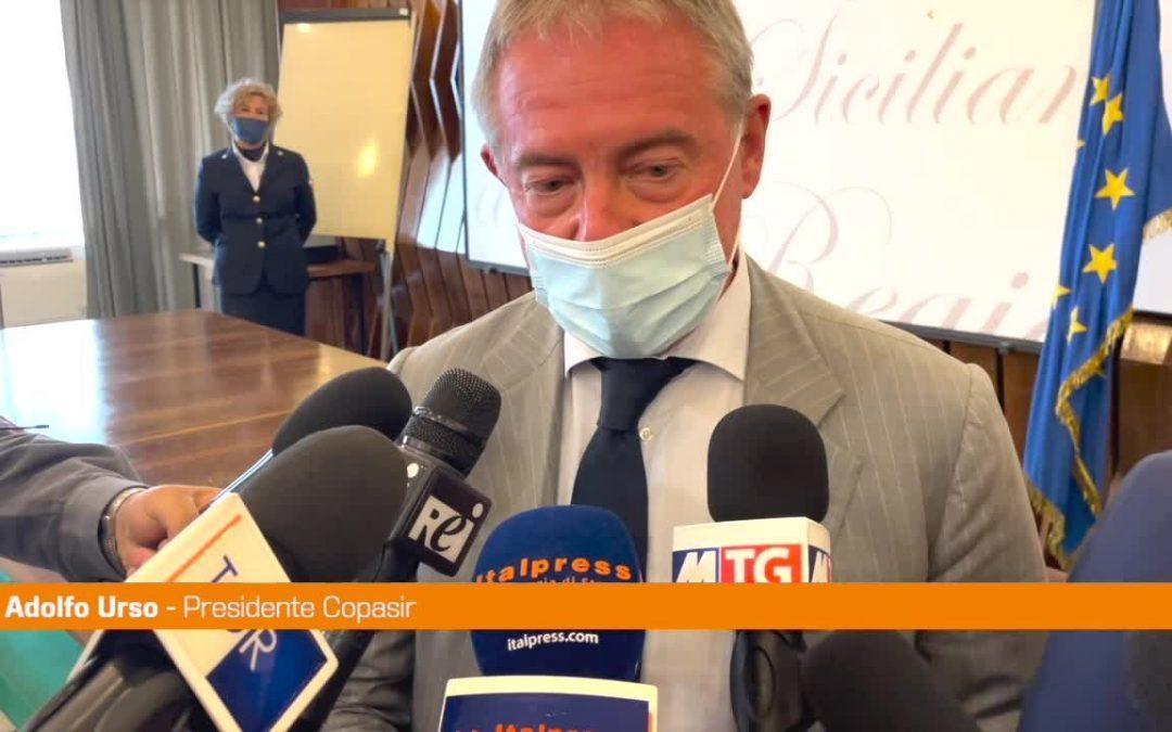 """Urso: """"La Sicilia regione di frontiera per rischi e minacce a Italia e Ue"""""""