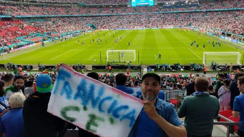 Due vibonesi alla finalissima di Wembley: «Oggi è più bello essere italiani»