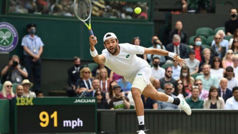 Berrettini battuto, Wimbledon è ancora di Djokovic