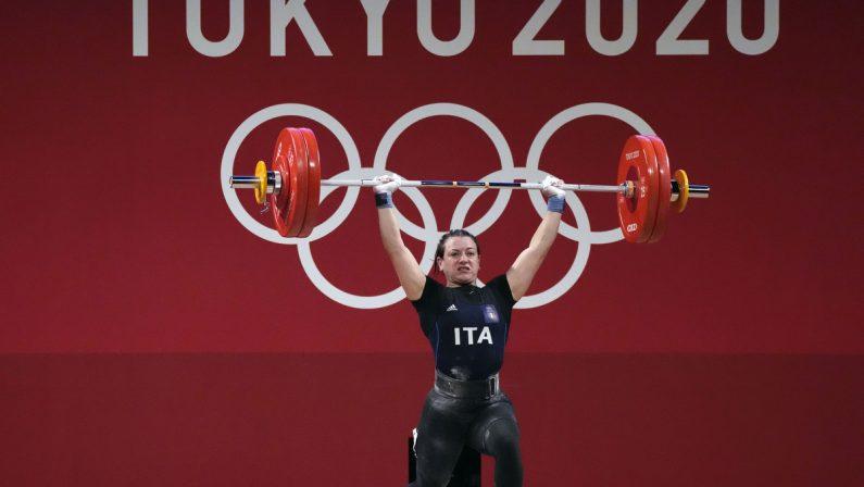 Tokyo 2020, Bordignon nella storia: prima medaglia femminile nei pesi