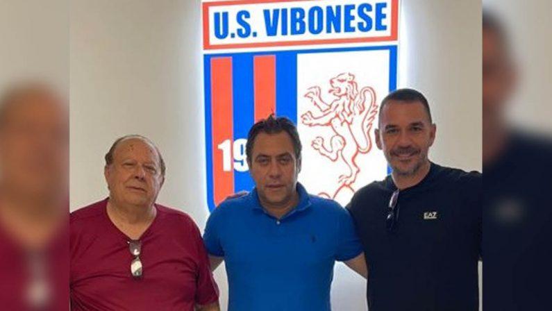 Serie C, presentato D'Agostino il nuovo allenatore della Vibonese
