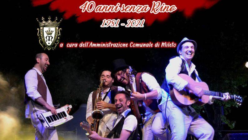 Mileto, due eventi nel segno di Fabrizio De André e Rino Gaetano