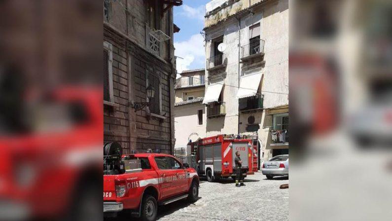 Cosenza, due nuovi crolli nel centro storico