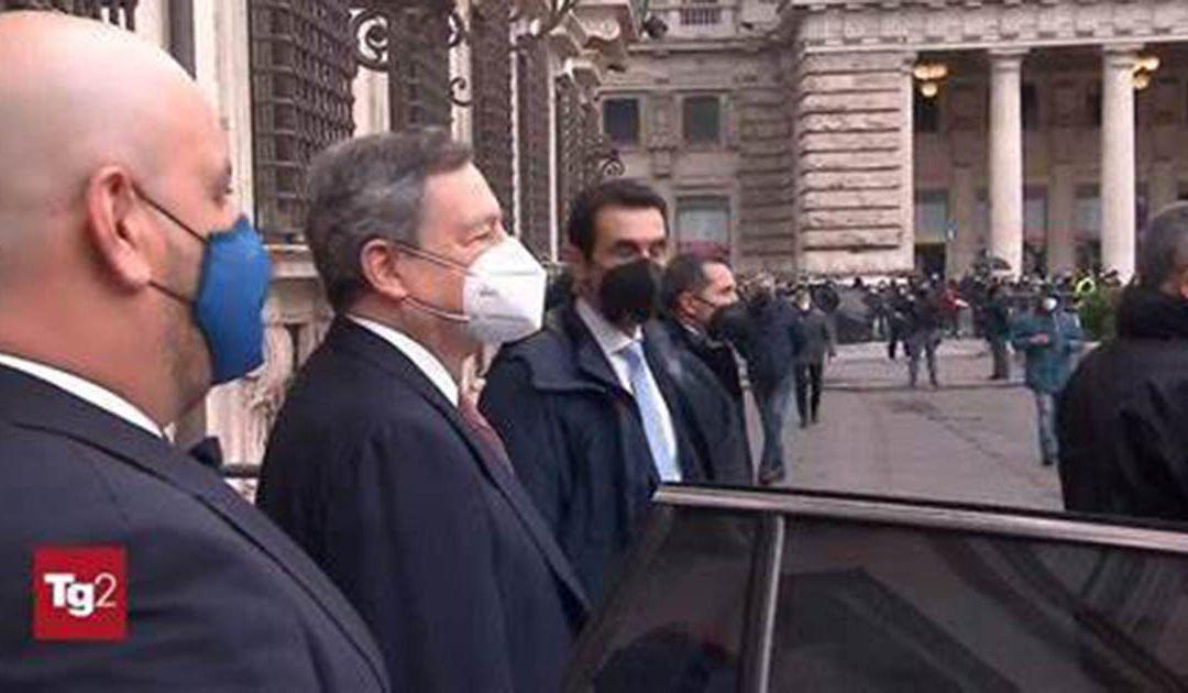 Draghi al Tg2