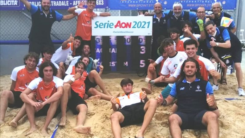 Beach Soccer: laEcosistem Lamezia si qualifica alla Final Four