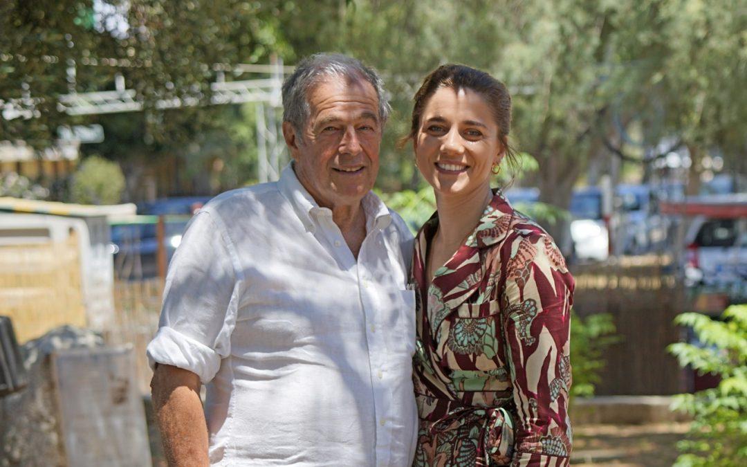 Giovanni Minoli ed Eleonora Giovanardi