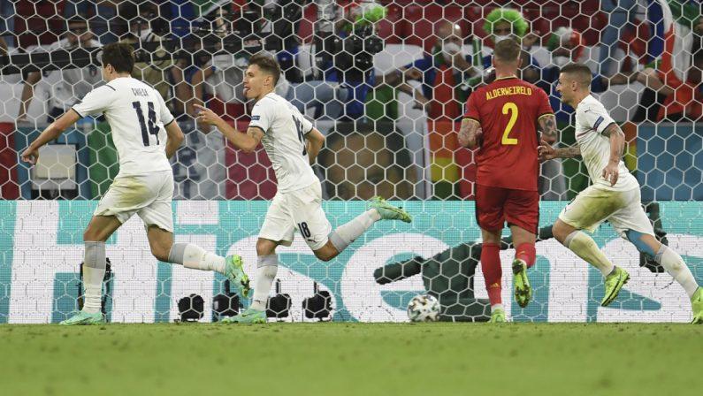 A Euro2020 è grande Italia: battuto il Belgio, siamo in semifinale