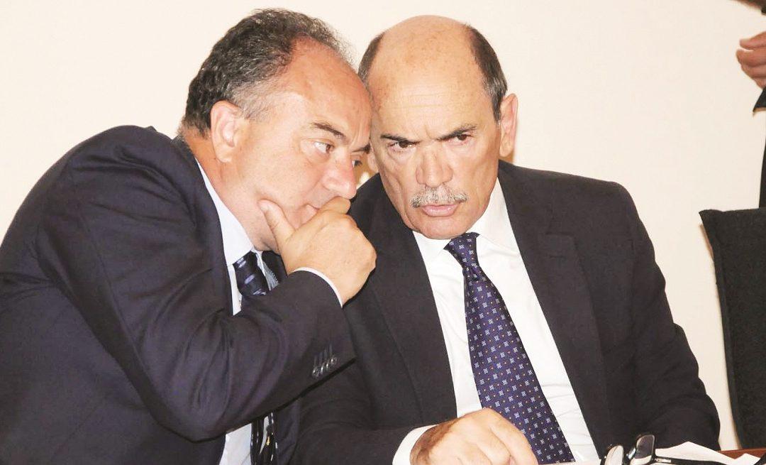 Nicola Gratteri e Federico Cafiero De Raho