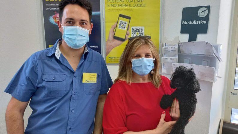 Una polizza assicurativa per il cane: la scelta in un ufficio postale del Catanzarese