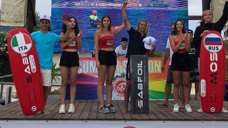 Kite, il gran finale nel mare di Gizzeria: la Calabria sorride tra sport e turismo