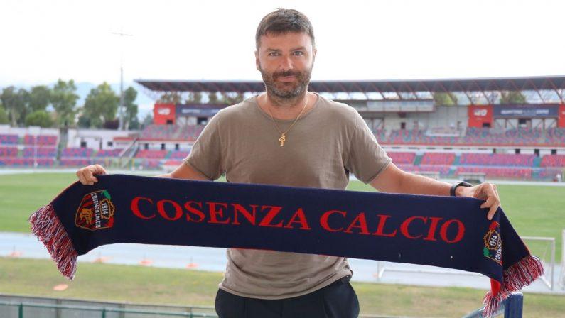 Ufficiale: Roberto Goretti è il nuovo direttore sportivo del Cosenza Calcio
