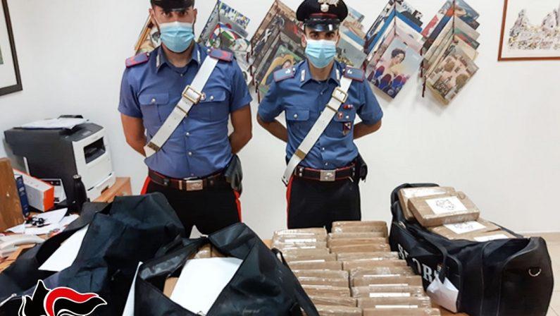 Droga: Tir sull'A2 nel Reggino con un carico di 100 panetti di cocaina, valore di 7 milioni