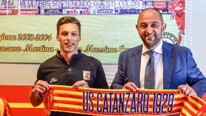 Si muove il mercato del Catanzaro: è ufficiale l'arrivo di Tentardini