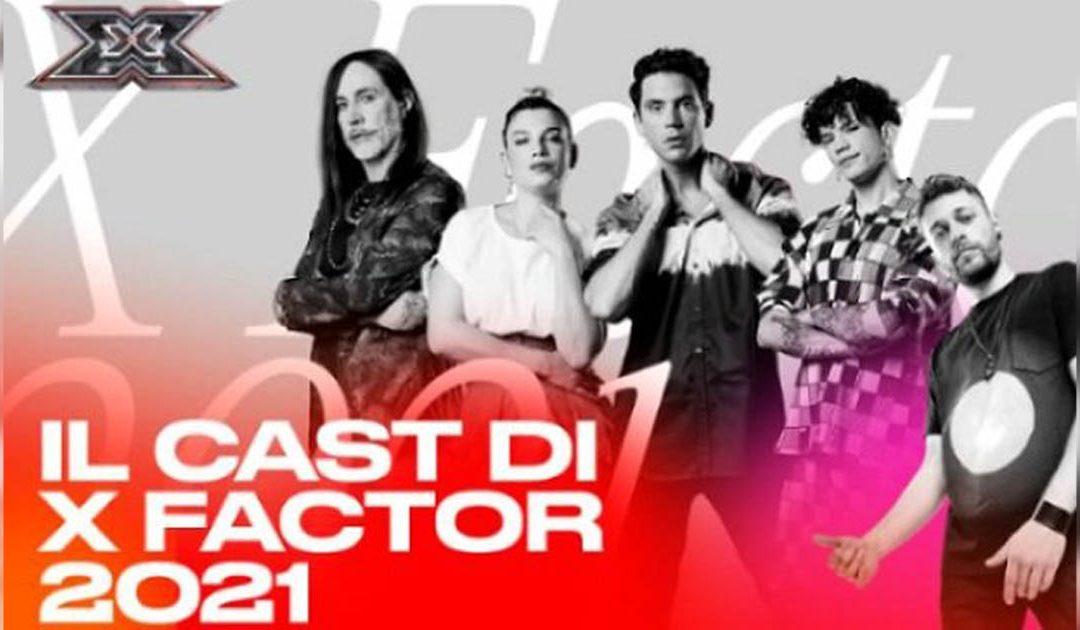 Il cast di X-Factor 2021
