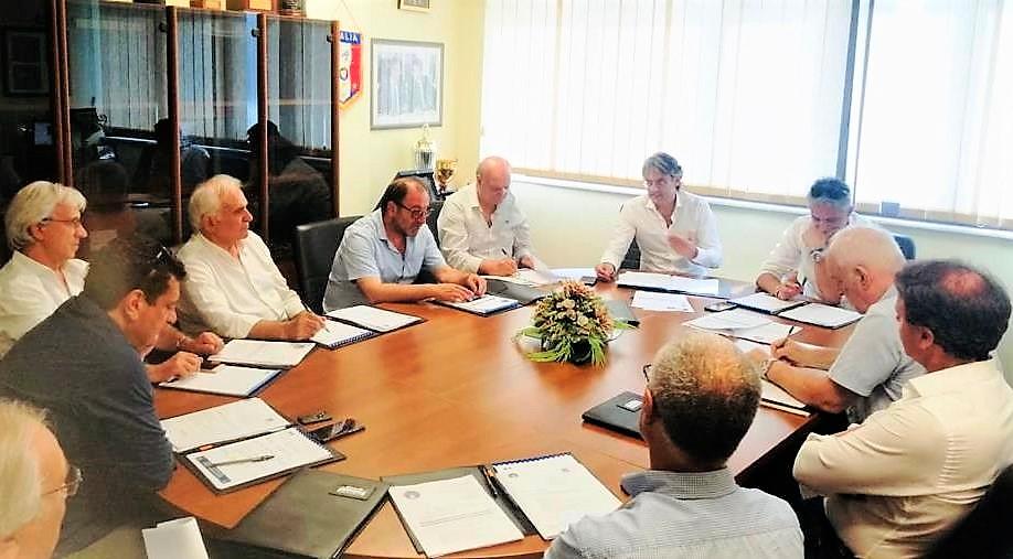 Il Consiglio Direttivo del Comitato Regionale Lnd della Calabria