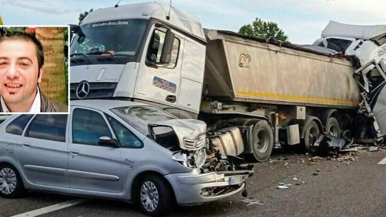 Tamponamento in autostrada, camionista catanzarese morto in un incidente vicino Brescia
