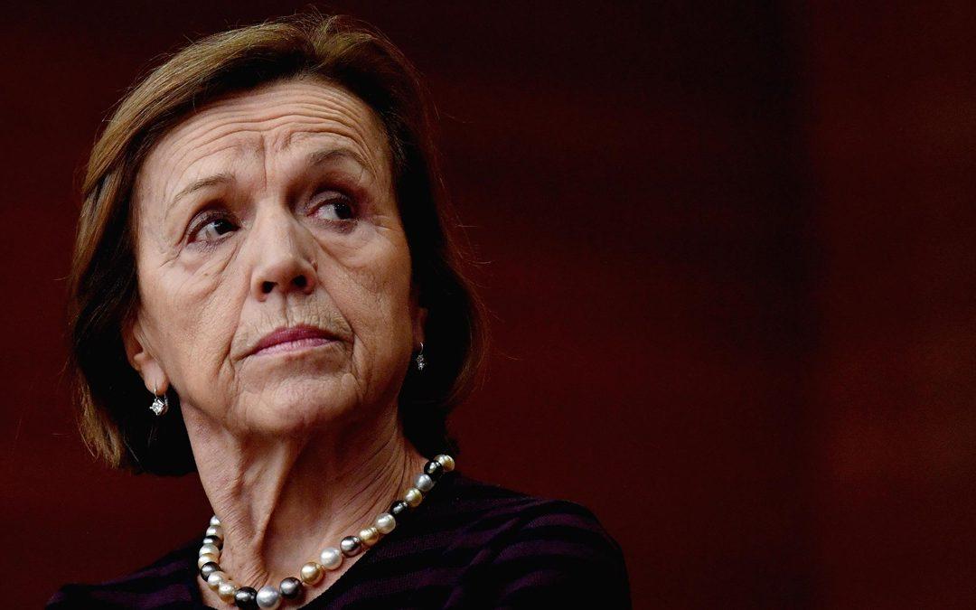 L'ex ministro Elsa Fornero