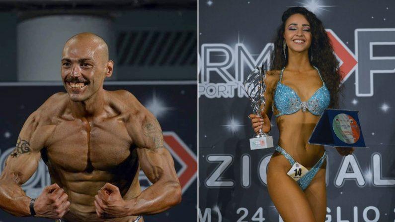 Due atleti vibonesi primeggiano nel bodybuilding: Eramo e Giofrè campioni italiani