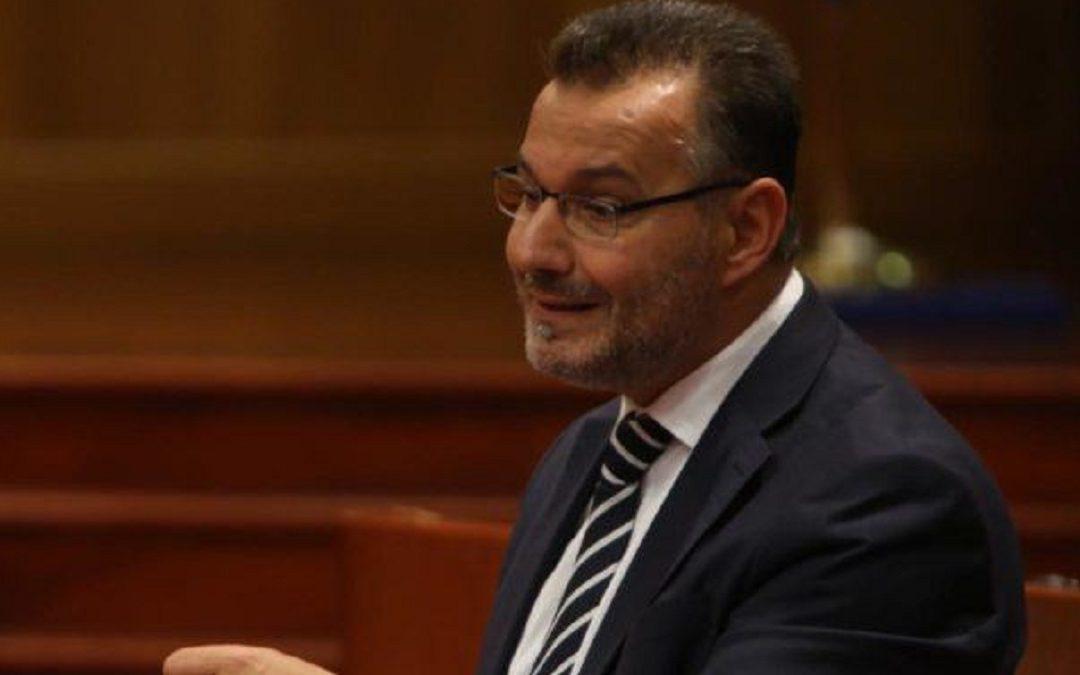 L'ex consigliere regionale Giuseppe Giudiceandrea