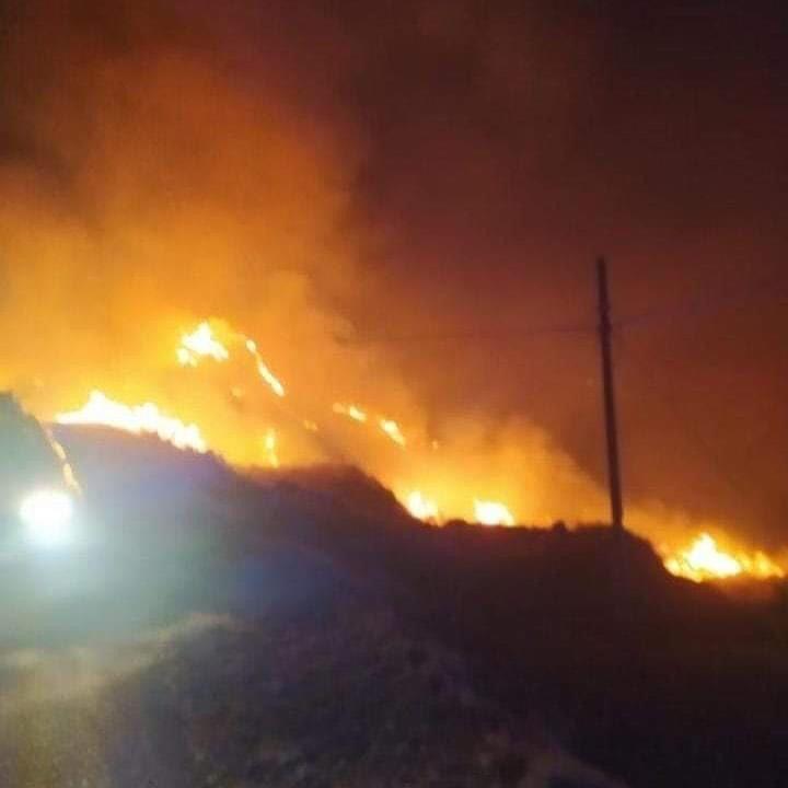 Rotondella, domato vasto incendio