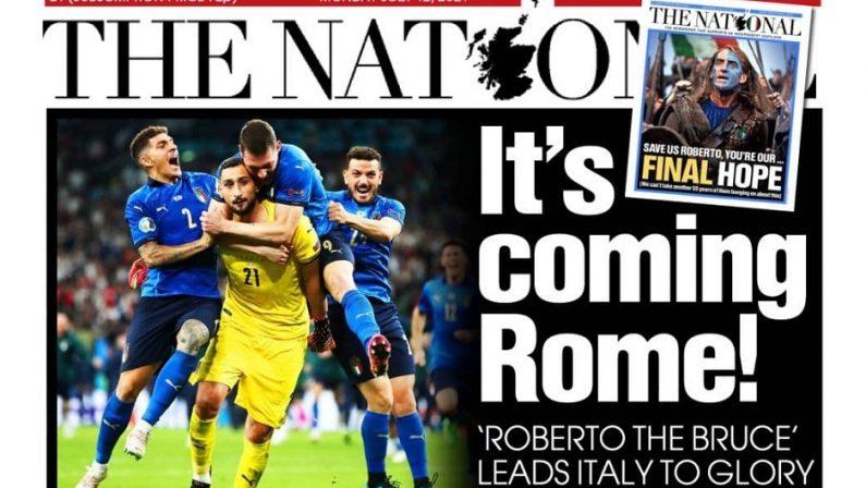 L'Europa celebra l'Italia, ironia dei quotidiani per la sconfitta dell'Inghilterra a Euro 2020