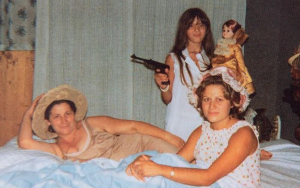 """Maria Serraino in un """"ritratto"""" di famiglia"""