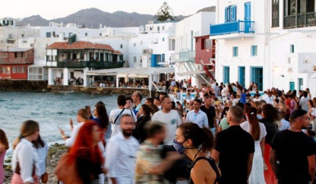 L'isola greca di Mykonos