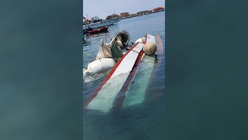 """Vibo Valentia, affondato lo storico peschereccio """"Santa Rita"""""""