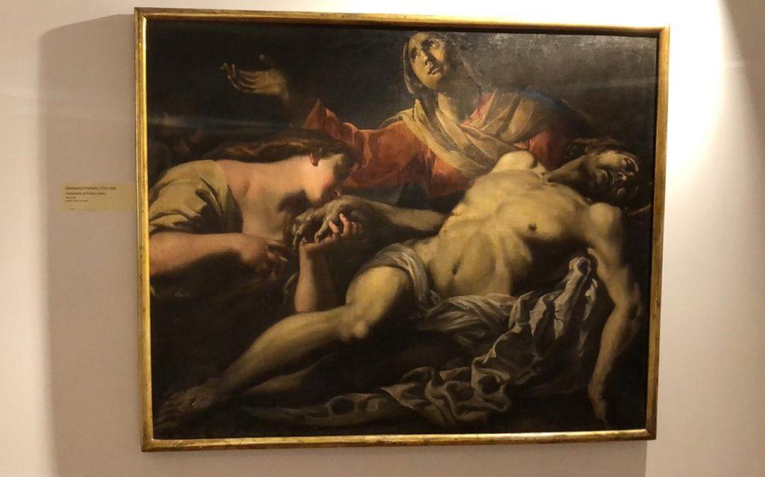 Una delle opere esposte a Soriano Calabro
