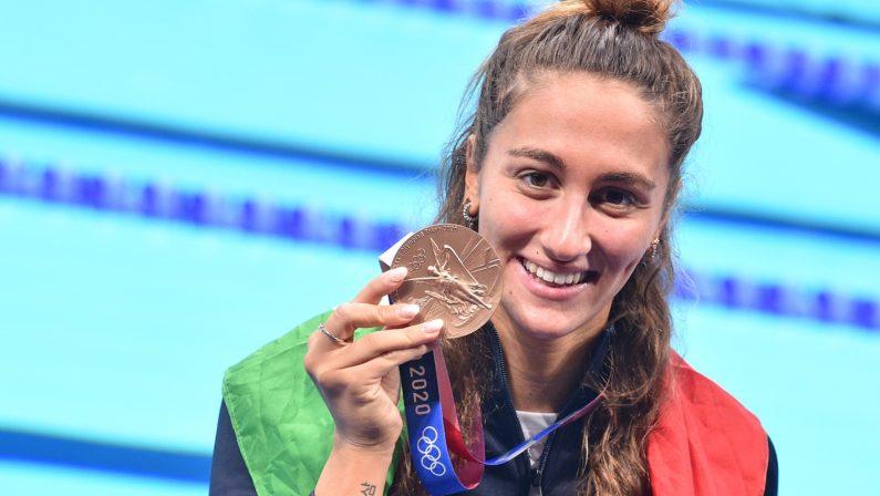 Olimpiadi di Tokyo 2020, bronzo per Quadarella negli 800 stile libero