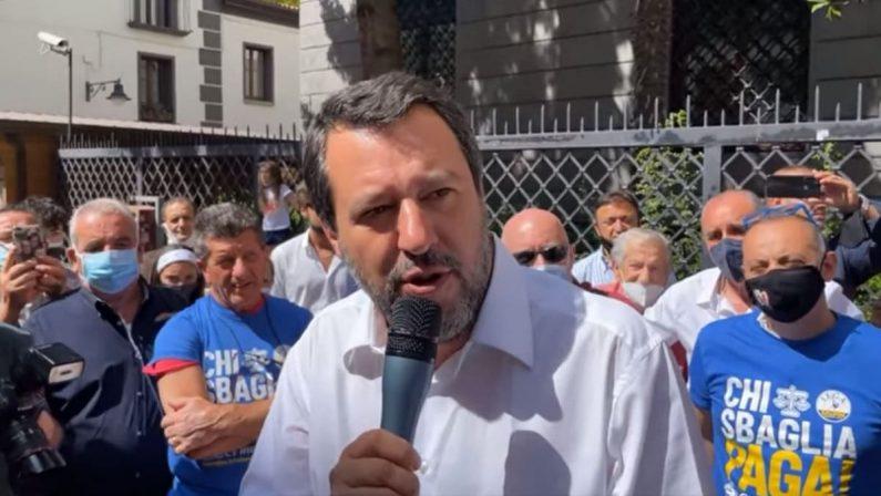 Verso le elezioni, Salvini: «Ticket Occhiuto-Spirlì non si discute, supereremo i litigi»