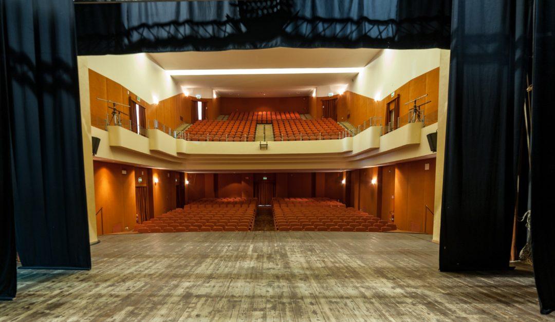 Lo storico teatro Morelli di Cosenza