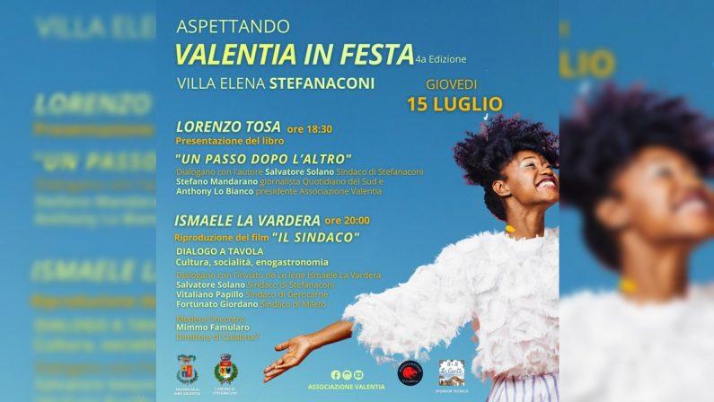 """""""Valentia in festa"""", l'anteprima a Stefanaconi con Tosae La Vardera"""