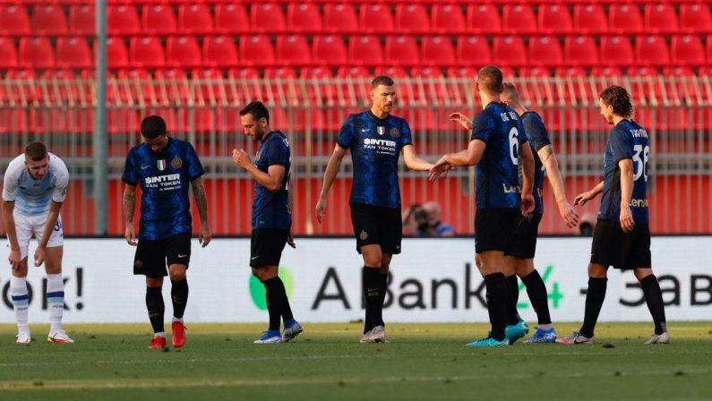 Precampionato, Inter batte Dinamo Kiev 3-0, Dzeko subito in gol