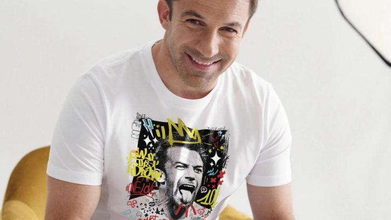 Linea Legends, l'artista vibonese Mazzotta collabora con Del Piero