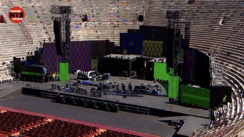 All'Arena di Verona con i Duran Duran per scegliere la canzone dell'estate 2021