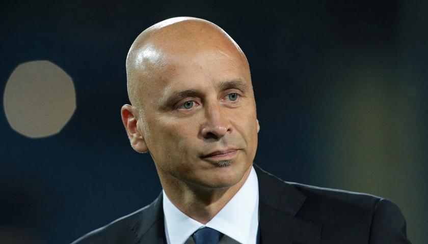 L'allenatore Eugenio Corini