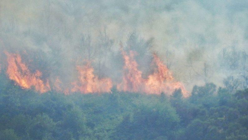 Emergenza incendi, il comandante dei vigili del fuoco: «Mai vista qui una situazione simile». Spirlì convoca i sindaci