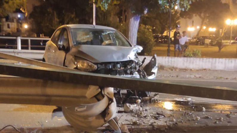 Incidente stradale a Scalea, due feriti gravi