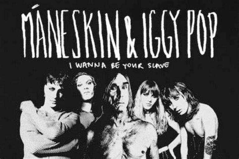 """Maneskin, una versione di """"I wanna be your slave con Iggy Pop"""