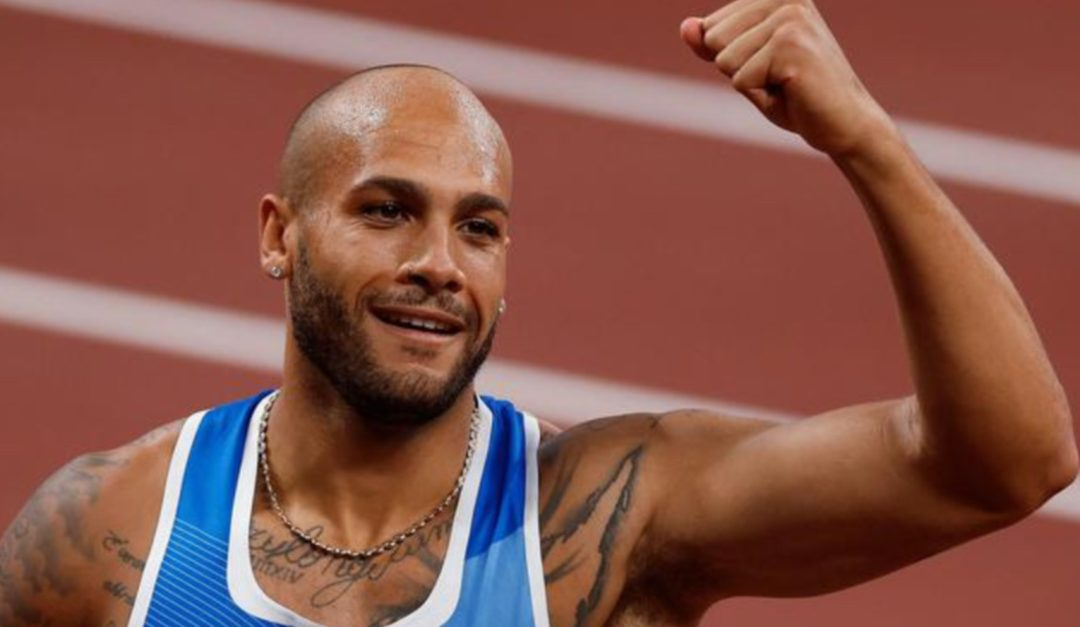 L'oro olimpico Marcell Jacobs