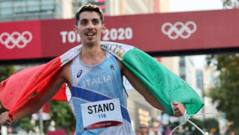 Oro azzurro anche nei 20 km di marcia: Massimo Stano stacca tutti e vince