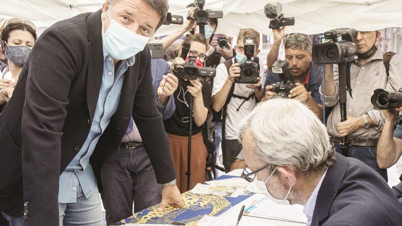 Referendum sul reddito di cittadinanza, l'ultimo dispetto di Renzi a Pd e Conte
