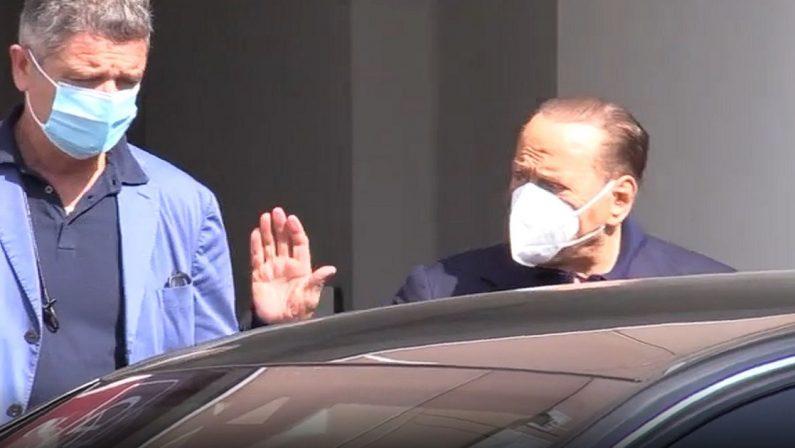 Berlusconi dimesso dal San Raffaele, era ricoverato per controlli