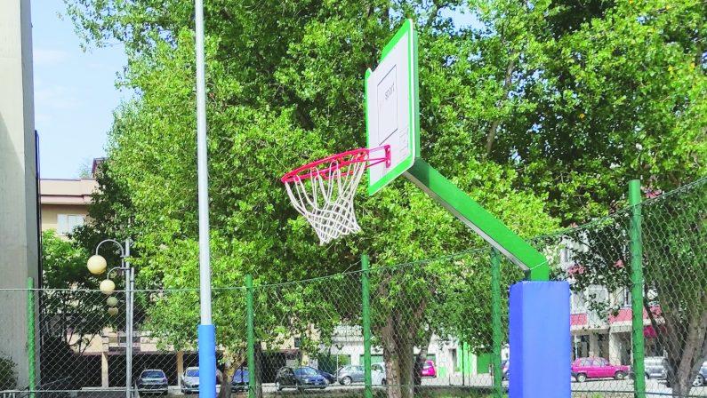 Potenza, chiude il campo di mini basket