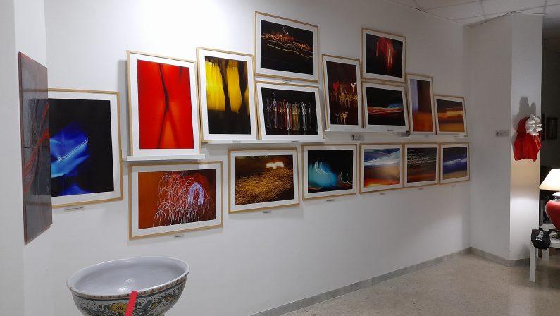 """Conclusa con successo la mostra """"Dipingere con la luce"""""""