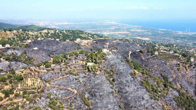 Incendi a Corigliano Rossano e San Basile, indaga la Procura di Castrovillari