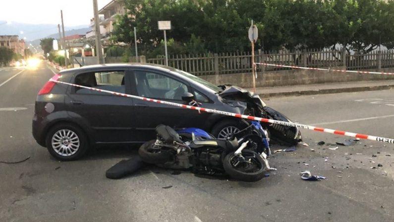 Incidente mortale a Montepaone, perde la vita un motociclista 31enne