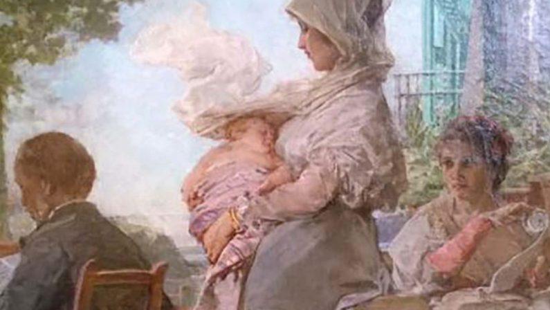 Tedesco e quella pittura colta e teatrale come scenografie di Visconti e Zeffirelli