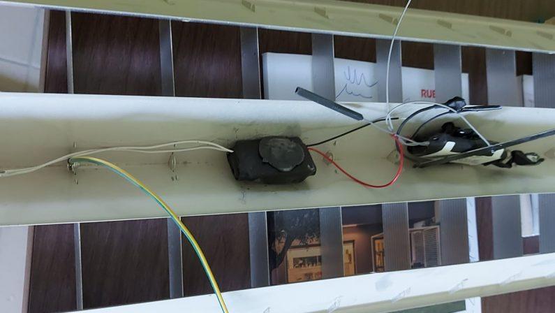 Microspia nell'ufficio del sindaco di Cleto, presentato esposto in Procura